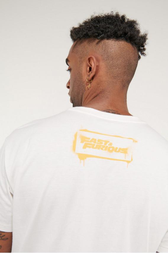 Camiseta manga corta de Rápidos y Furiosos.