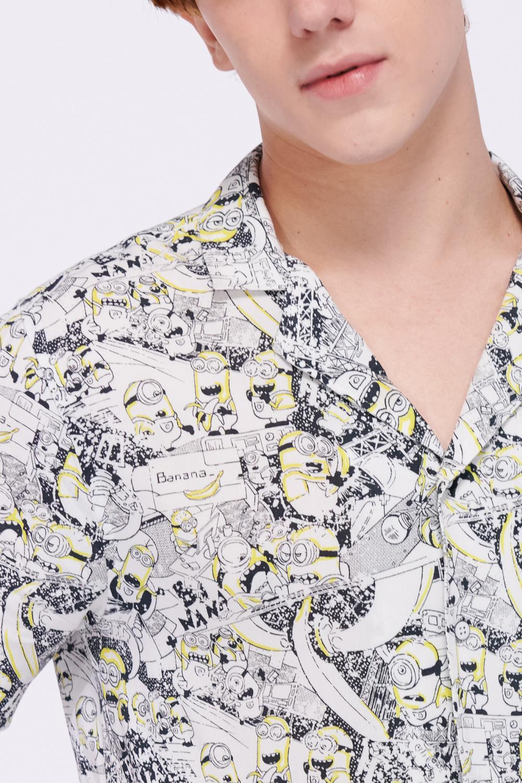 Camisa estampada Minions.