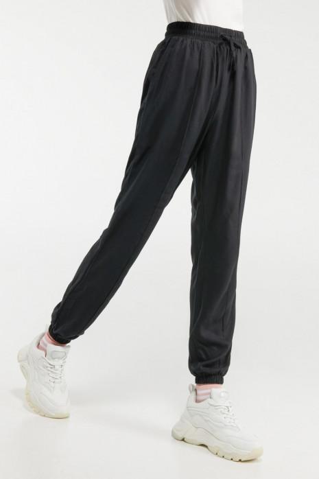 Pantalón super tiro alto con elástico
