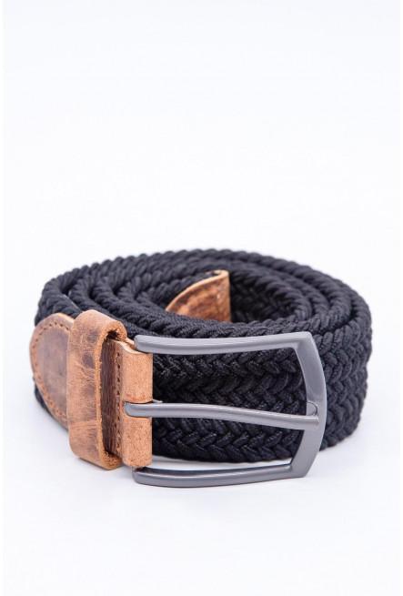 Cinturon unicolor negro