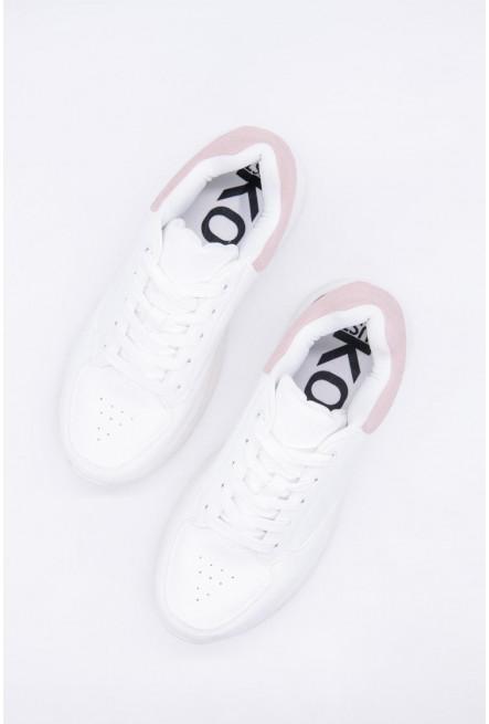 Zapato en combinacion de tonos