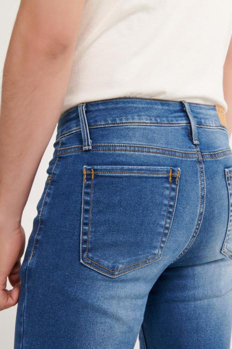 Jean súper skinny efecto lavado