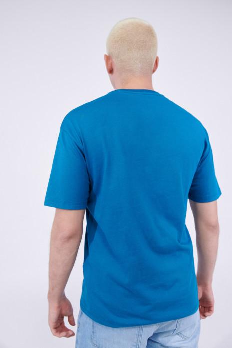 Camiseta cuello redondo con estampado en frente y espalda Pinky & Cerebro