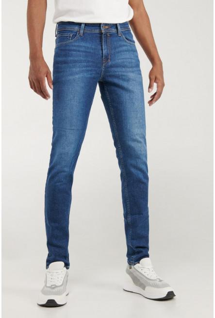 Jean skinny con lavado medio