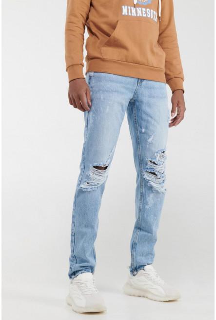 Jean skinny rotos