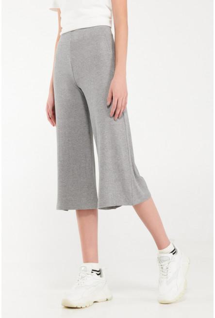 Pantalón culotte en tela de punto