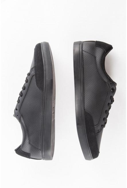 Zapato unicolor.