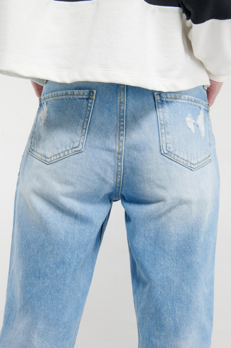 Jean boyfriend con rotos