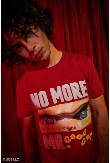 Camiseta manga corta, estampado de Chucky.