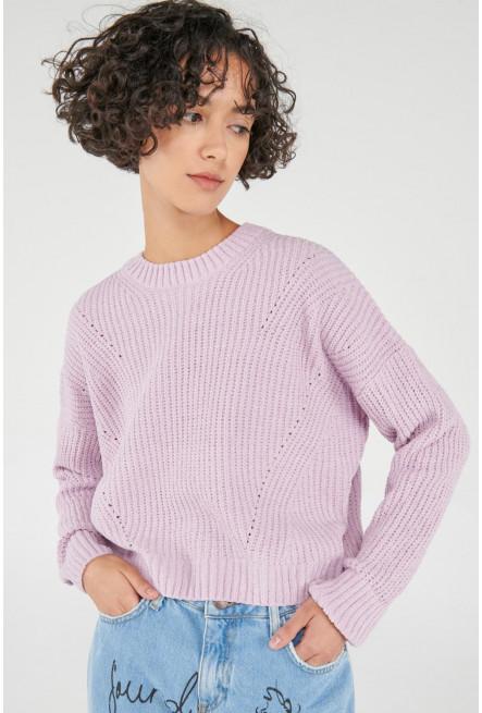 Suéter holgado unicolor