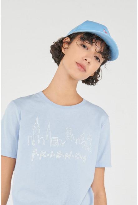 Camiseta manga corta, estampado de Friends.