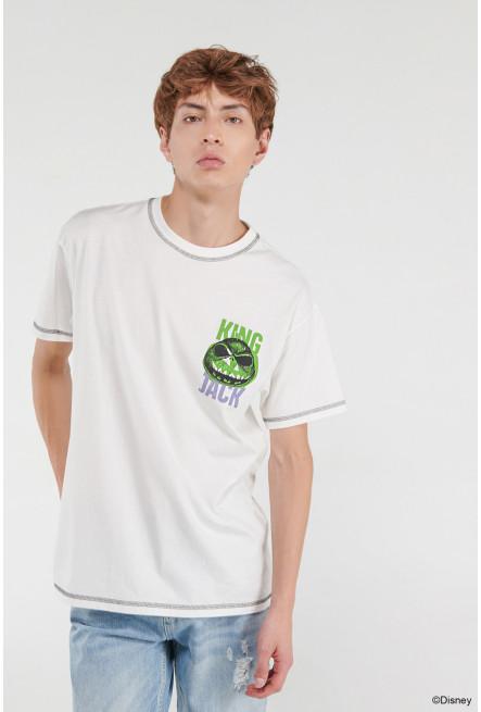 Camiseta, estampado de El extraño mundo de Jack.