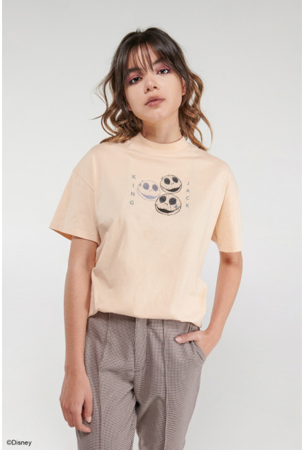 Camiseta manga corta, estampado de El extraño mundo de Jack.