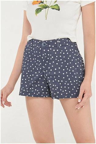 Shorts Cinco Bolsillos Colores