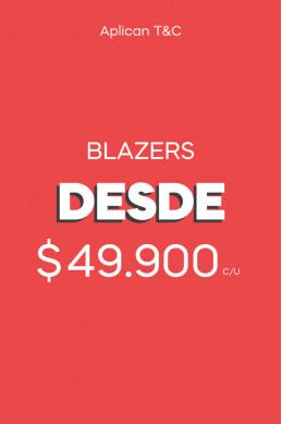 Blazers desde $49.900