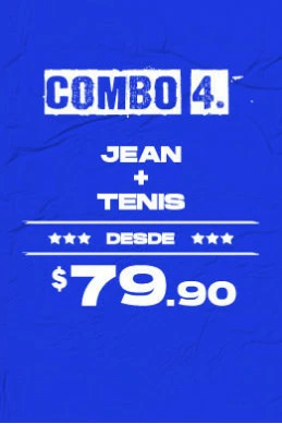 Jean + Tenis