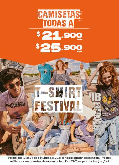 T-shirt festival